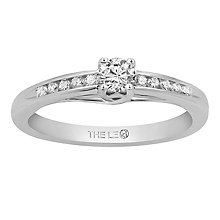 Leo Diamond 18ct White Gold 0.33ct Diamond Ring - Product number 6350410