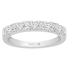 Leo Diamond 18ct White Gold 0.50ct Diamond Eternity Ring - Product number 6351166