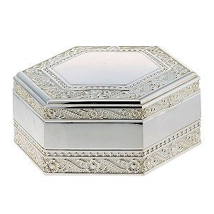 Special Memories Hexagonal Decorative Jewellery Box - Product number 6355714