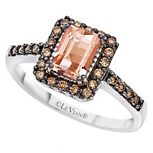 Le Vian 14ct Vanilla Gold and Peach Morganite ring - Product number 6355757