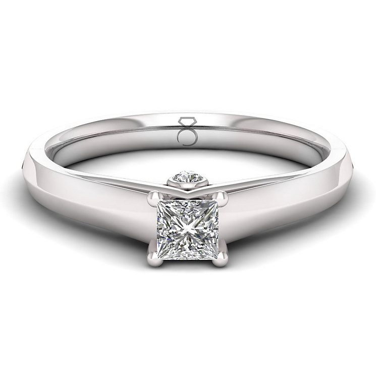 The Diamond Story 18ct White Gold 0.33ct Diamond Ring - Product number 6358942