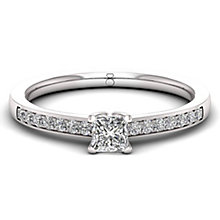 The Diamond Story 18ct White Gold 0.33ct Diamond Ring - Product number 6359078