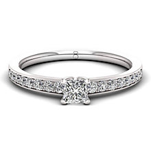 The Diamond Story 18ct White Gold 0.50ct Diamond Ring - Product number 6359523