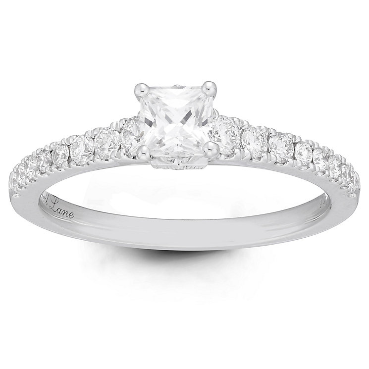 Neil Lane Bridal 14ct White Gold 0.75ct Solitaire Ring - Product number 6362346