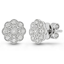 Neil Lane Designs Sterling Silver 0.20ct Diamond Earrings - Product number 6362869