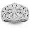 Neil Lane Designs Sterling Silver 0.14ct Diamond Ring - Product number 6362907
