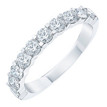 18ct White Gold 1ct Diamond Eternity Ring - Product number 6367771