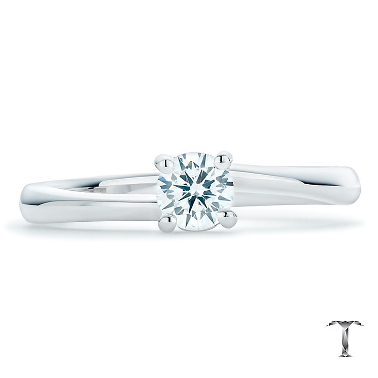 Tolkowsky 18ct White Gold 0.35ct Solitaire Ring - Product number 6372120