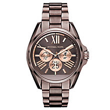 Michael Kors Access Bradshaw Ion Plated Bracelet Watch - Product number 6376479