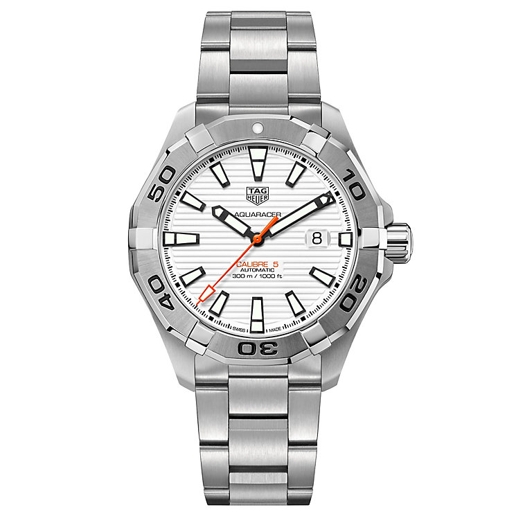 TAG Heuer Aquaracer Men's Stainless Steel Bracelet Watch - Product number 6379141