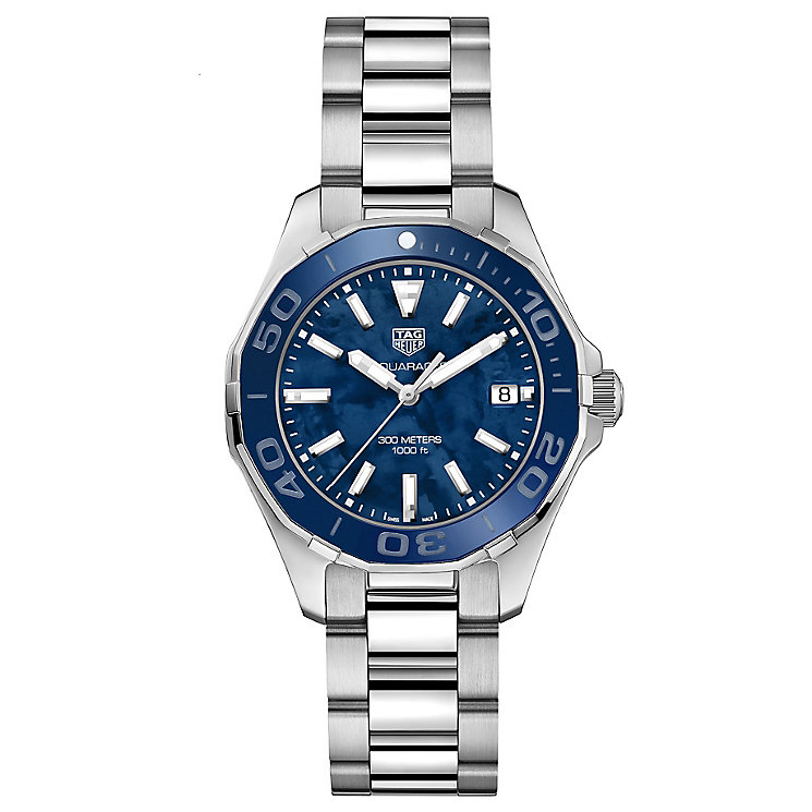 TAG Heuer Aquaracer Ladies' Stainless Steel Bracelet Watch - Product number 6379354