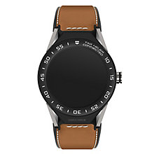 TAG Heuer Connected Modular 45 Brown Strap Smart Watch - Product number 6380565