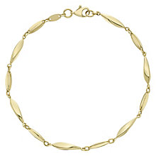 9ct Yellow Gold Long Bead Bracelet - Product number 6383254