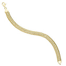 9ct Yellow Gold Bracelet - Product number 6383300