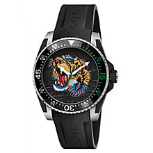 Gucci Men's Stainless Steel Tiger Strap Watch - Product number 6383408