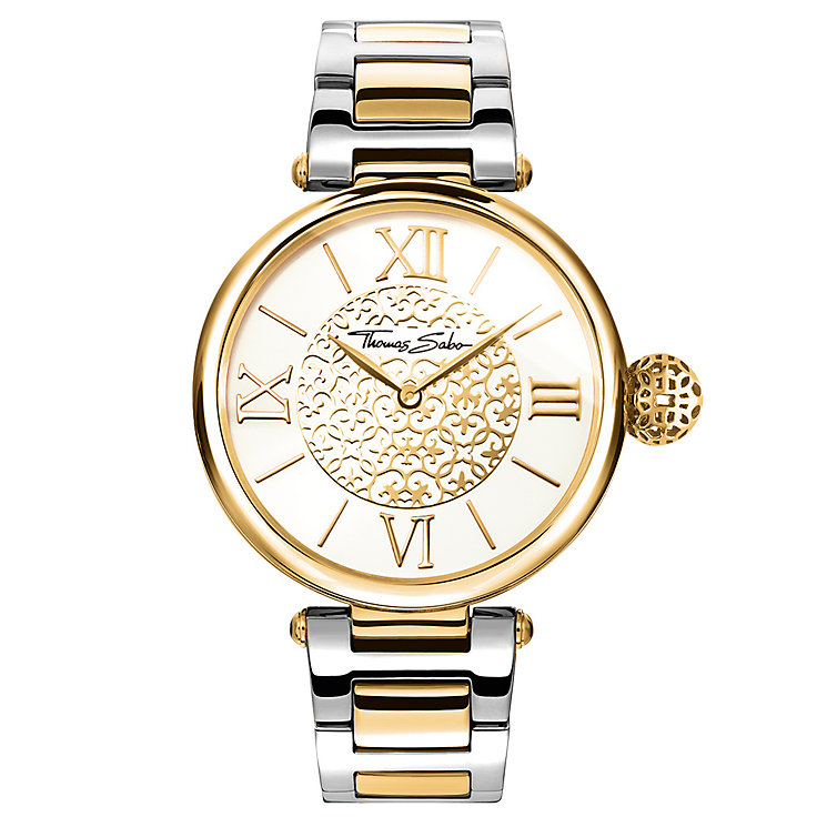 Thomas Sabo Karma Women's Two Colour Gold Watch - Product number 6383521
