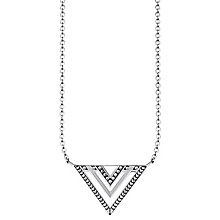 Thomas Sabo Silver Triangle Africa Necklace - Product number 6391583