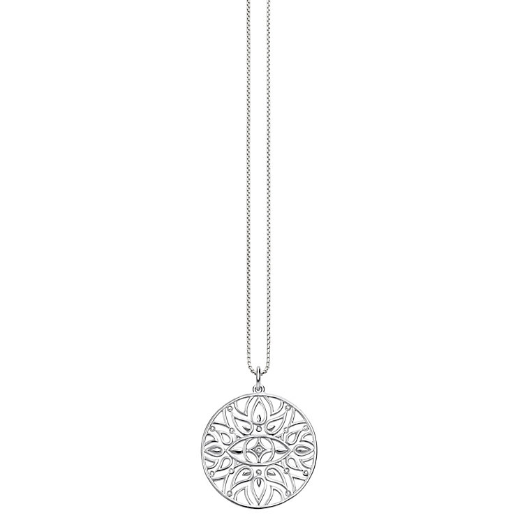 Thomas Sabo Diamond Mandala Pendant on Chain Necklace - Product number 6391591