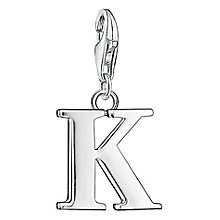 "Thomas Sabo Charm Club Letter ""K"" Charm - Product number 6392903"