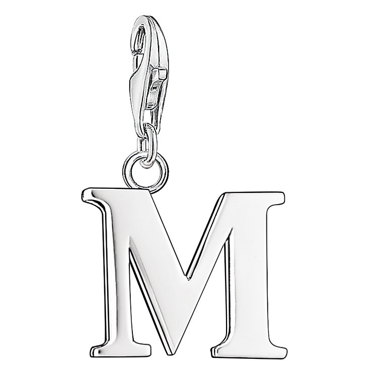 "Thomas Sabo Charm Club Letter ""M"" Charm - Product number 6392938"