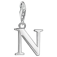 "Thomas Sabo Charm Club Letter ""N"" Charm - Product number 6392946"