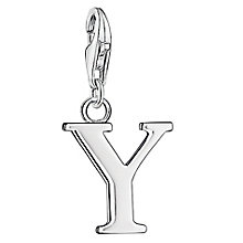 "Thomas Sabo Charm Club Letter ""Y"" Charm - Product number 6393462"