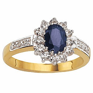 9ct Gold Sapphire