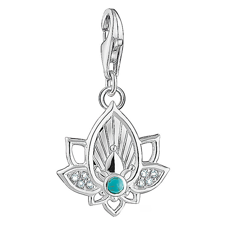 Thomas Sabo Charm Club Opening Lotus Charm - Product number 6395481
