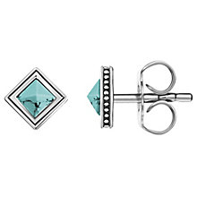 Thomas Sabo Graphic Turquoise Africa Stud Earrings - Product number 6395546