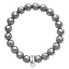 Thomas Sabo Charm Club Black Beads Charm Bracelet - Product number 6395600