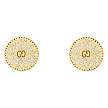 Gucci Icon 18ct Yellow Gold  Stud Earrings - Product number 6395767