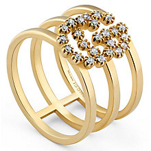 Gucci 18ct Yellow Gold Diamond Ring - Product number 6395821