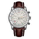 Breitling Navitimer World men's leather strap watch - Product number 6405770