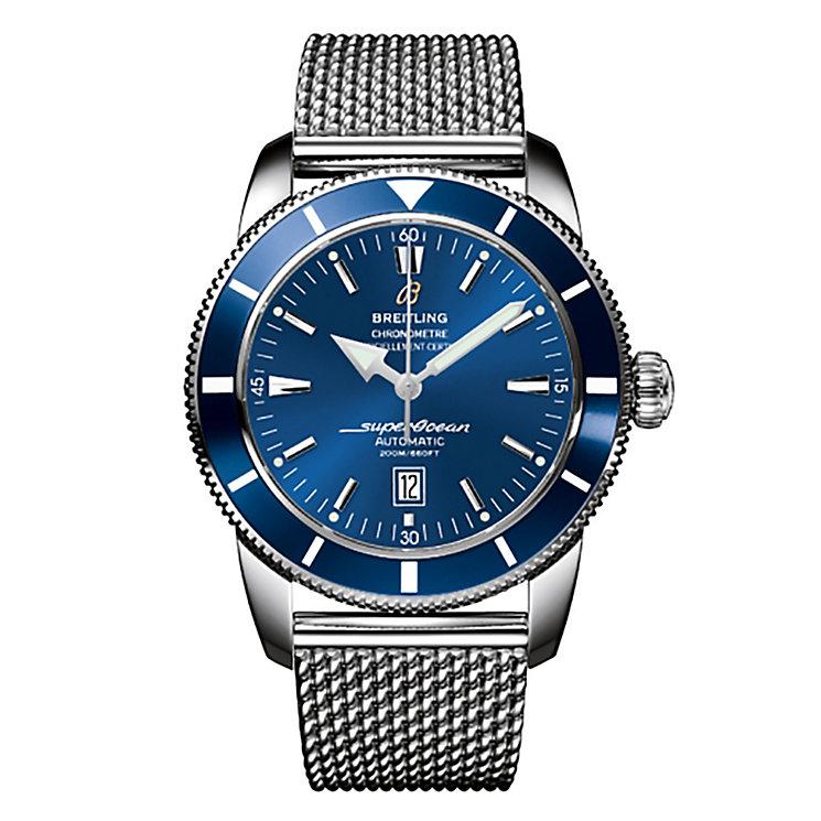Breitling Superocean Heritage 46 men's steel bracelet watch