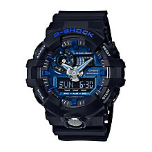 Casio G-Shock Men's Combi Black Strap Blue Dial Watch - Product number 6407315
