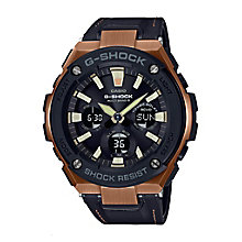 G-Shock Black Leather Strap Watch - Product number 6407374