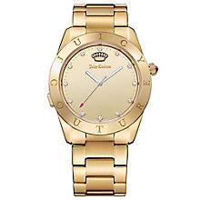 Juicy Couture Gold Plated Stainless Steel Bracelet Watch - Product number 6409784
