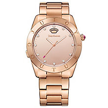 Juicy Couture Rose Gold Plated Staineless Steel Watch - Product number 6409830