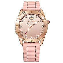 Juicy Couture Pink Silicone Strap Watch - Product number 6409849