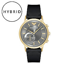 Emporio Armani Connected Men's Gold Tone Smart Watch - Product number 6409903