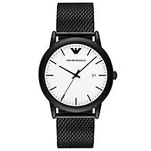 Emporio Armani Men's Ion Plated Bracelet Watch - Product number 6409970