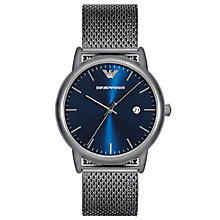 Emporio Armani Men's Ion Plated Bracelet Watch - Product number 6410006