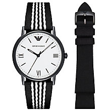 Emporio Armani Men's Ion Plated Strap Watch - Product number 6410014