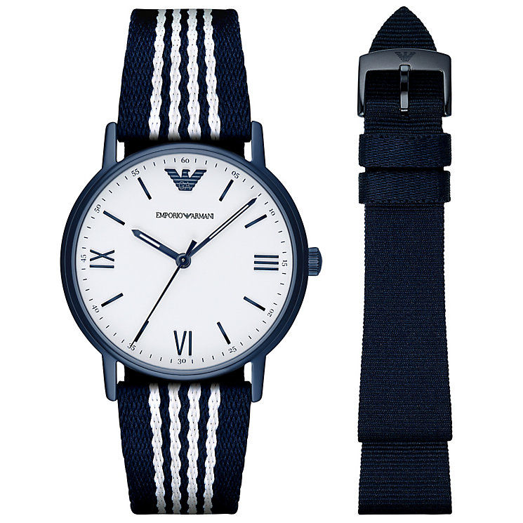 Emporio Armani Men's Ion Plated Strap Watch - Product number 6410022