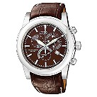 Citizen Eco-Drive brown leather strap watch - Product number 6411681
