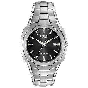 Citizen Eco-Drive men's titanium bracelet watch - Product number 6411703