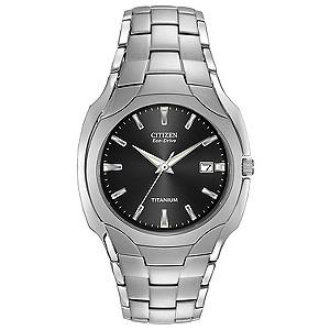 Citizen Eco-Drive men's titanium bracelet watch - Product number 6411703