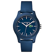 Lacoste Ladies' Blue Silicon Strap Watch - Product number 6412297