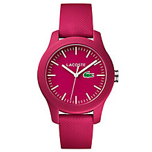 Lacoste Ladies' Pink Silicon Strap Watch - Product number 6412300