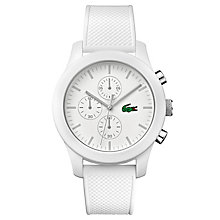 Lacoste Men's White Silicon Strap Watch - Product number 6412394